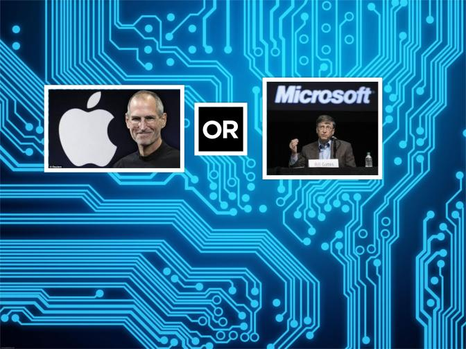 Poll: Steve Jobs or Bill Gates